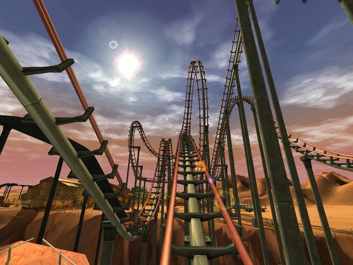 Rollercoaster Tycoon. PR Foto.